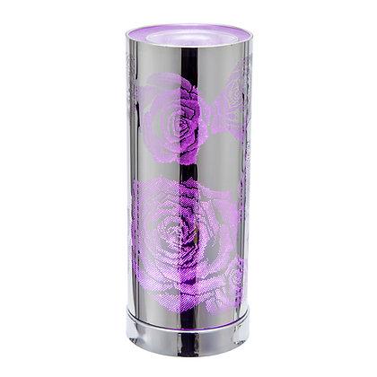 LED Colour Changing Burner (Silver Rose)