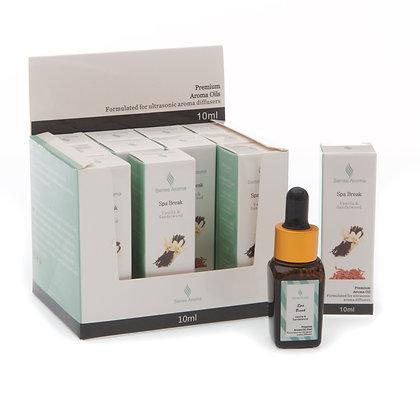 Spa Break Premium Fragrance Oil 10ml (Case of 12) Unit Price £1.75