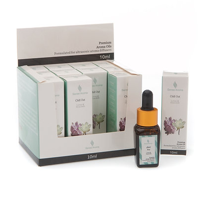 Chill Out Premium Fragrance Oil  10ml (Case of 12) Unit Price £1.75