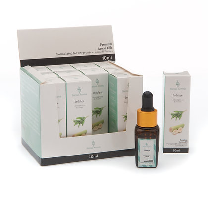 Indulge Premium Fragrance Oil, 10ml (Case of 12) Unit Price £1.75