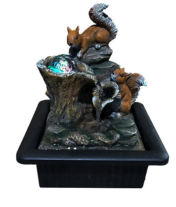 Red Squirrels Fountain (Case of 6) Unit Price £15.95