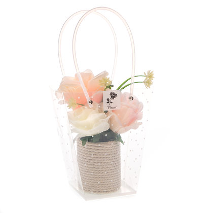 Rose Mixed colour flower display (Case of 6) Unit Price £4.95