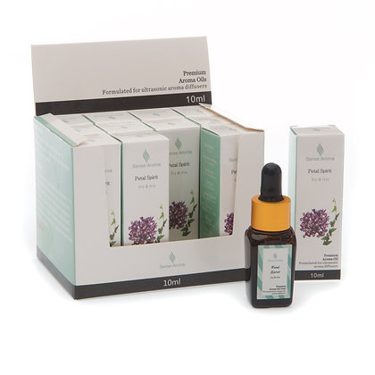 Petal Spirit Premium Fragrance Oil 10ml (Case of 12) Unit Price £1.75