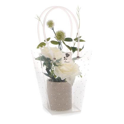 White Flower Display (Case of 6) Unit Price £4.50