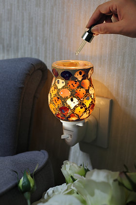 Amber Mosaic Wax Warmer (Case of 12) Unit Price £5.95