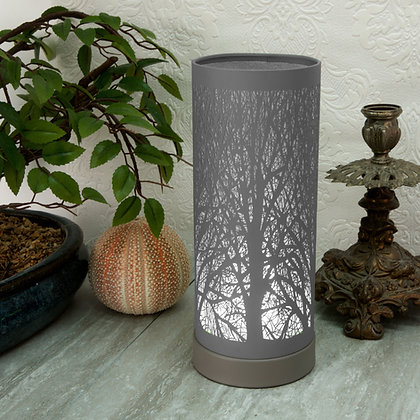 Grey Aroma Touch Lamp