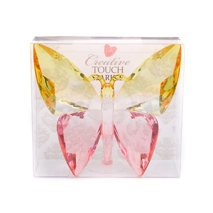 Yellow & Pink Acrylic Butterfly (Case of 12) Unit Price £3.95