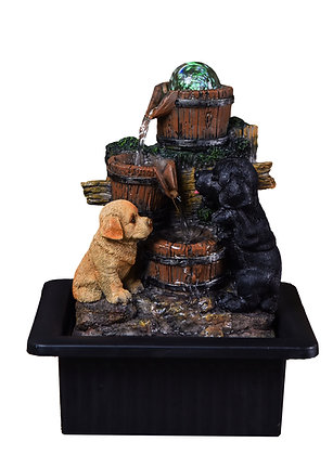 Playful Pups Fountain (Case of 6) Unit Price £15.95