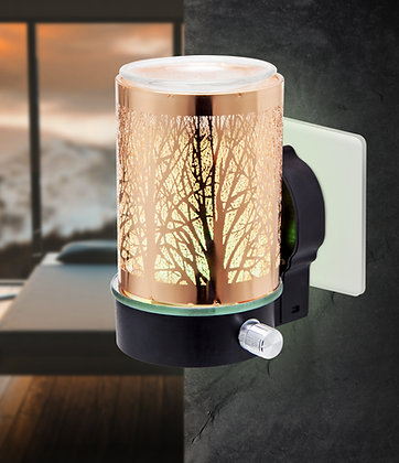 Rose Gold Tree LED Plug In Warmers (Case of 12) Unit Price £9.75
