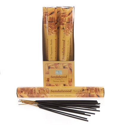 Sandalwood Incense Sticks (Case of 12) Unit Price £1.50