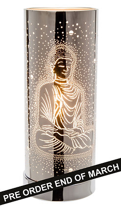 White Buddha Touch Lamp( case of 6), Unit Price £9.60