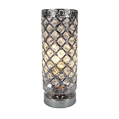 Silver Elegance Aroma Touch Lamp