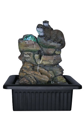 The Otters Fountain (Case of 6) Unit Price £15.95