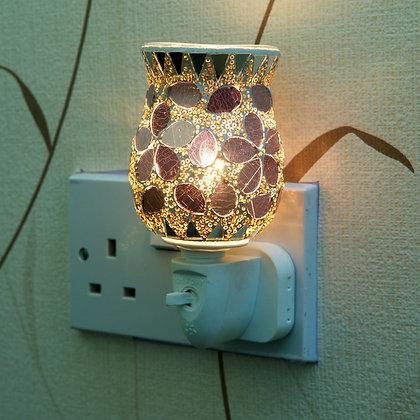 Purple Mosaic Plug-in Wax Warmer(Case of 12) Unit Price £5.95