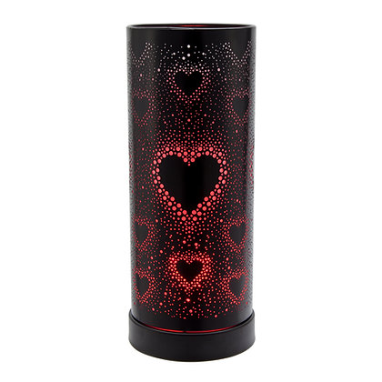 Hearts Colour Changing LED Black Casing