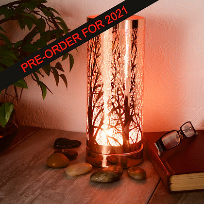 White Rose Gold Aroma Touch Lamp(Case of 6) Unit Price £9.25