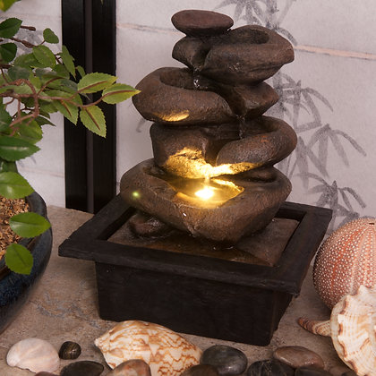 Cascading Bowls Fountain (Case of (6) Unit Price £15.95