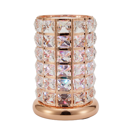 Rose Gold Crystal LED Lamp (Case of 6)