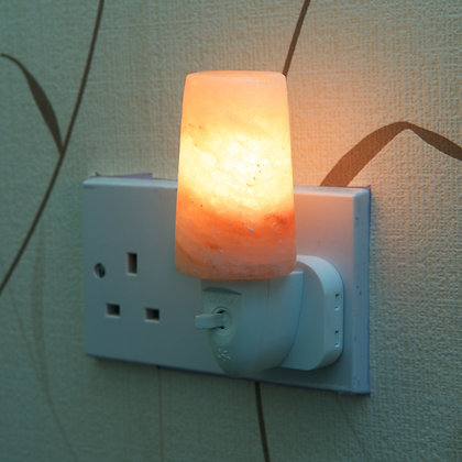 Lamp Shade Plug - in Salt Lamp (13 cm)