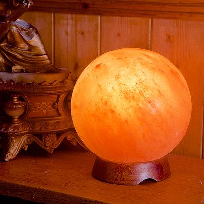 Sphere Salt Lamp (14 cm High)