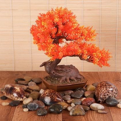 Resin Bonsai Orange (28cm)