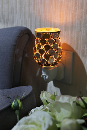 Golden Scales Tulip Mosaic Wax Warmer