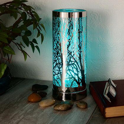 LED Colour Changing Burner (Silver Casing)