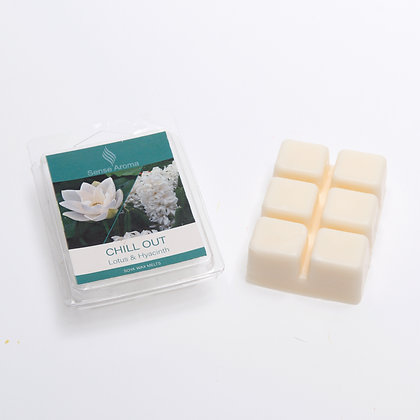 Chill out wax melt bar (Case of 12) Unit Price £1.50