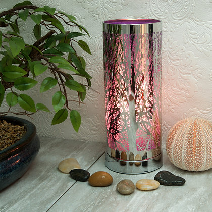Purple Silver Aroma Touch Lamp(Case of 6) Unit Price £9.60