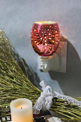 Pink Fireworks 3D Plug in Warmer