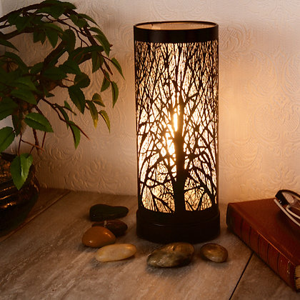 Black Aroma Touch Lamp
