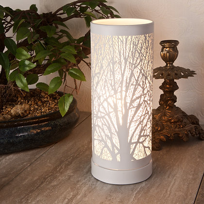 White Aroma Touch Lamp(Case of 6) Unit Price £9.60