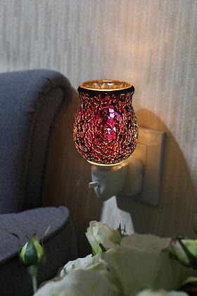 Fuchsia Gem Mosaic Wax Warmer