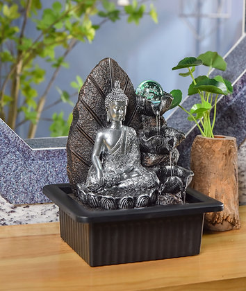 Nirvana Indoor Water Fountain with LED Light