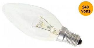 E14 -9 Watt Bulb Pack of 2