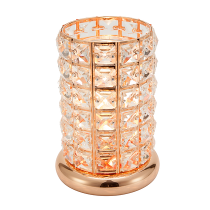 Rose Gold Crystal Aroma Touch Lamp (Case of 6)