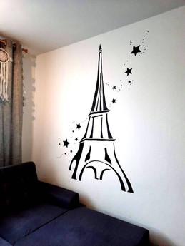 Eiffelova věž v obýváku