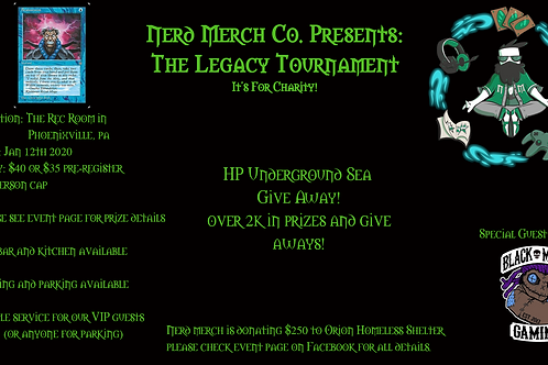 The Legacy Tournament entry