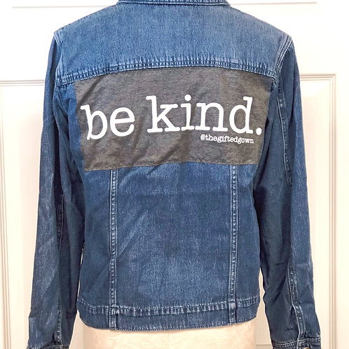 GG Jacket Project - Be Kind -S