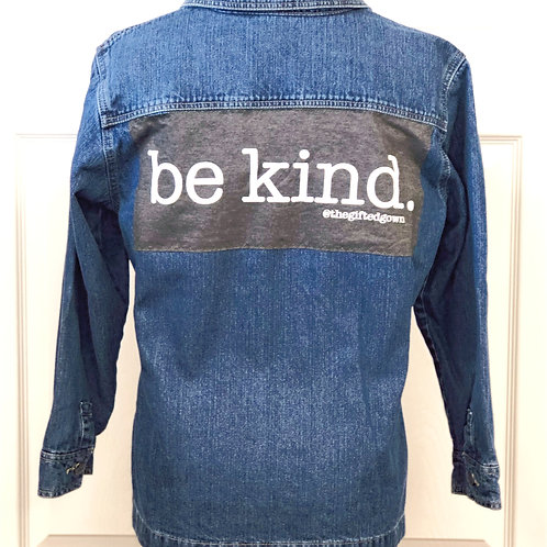GG Jacket Project - Be Kind - Zipper - M