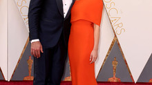Aaron Rodgers and Olivia Munn walk the Oscars Red Carpet