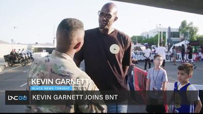 Kevin Garnett Talks Hoop It Up