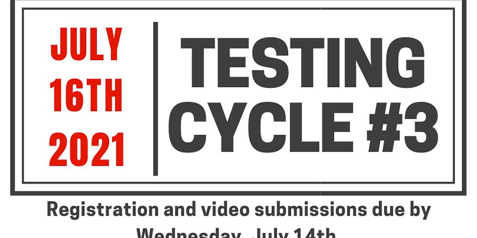 Testing Cycle #3.21.2