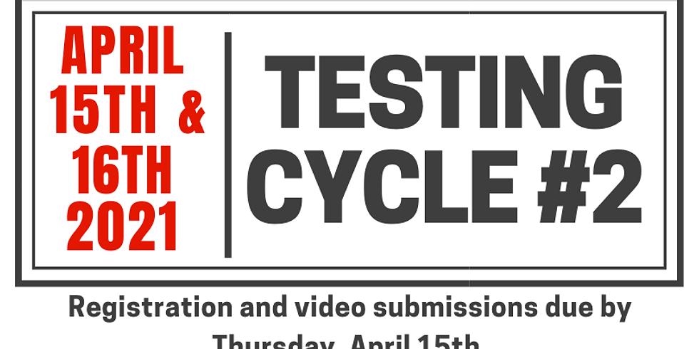 Testing Cycle #2.21