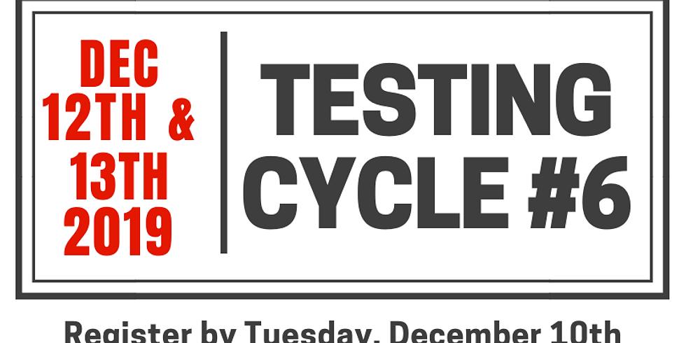 Testing Cycle #6.19