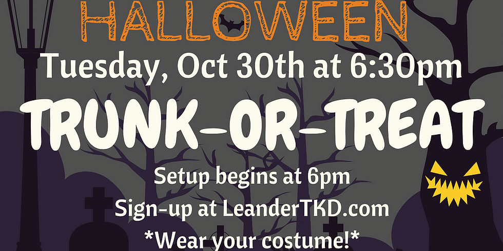 RSVP for Trunk-Or-Treat - FREE