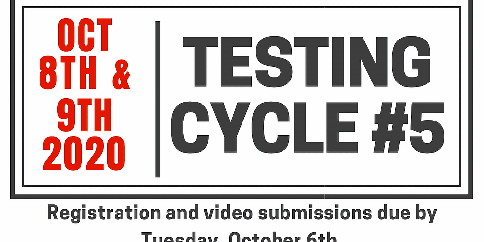 Testing Cycle #5