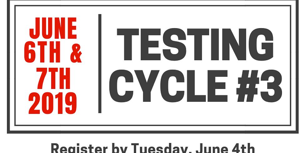 Testing Cycle #3.19