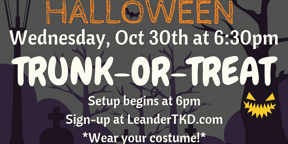 RSVP for Trunk-Or-Treat 2019 - FREE