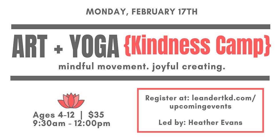 Art + Yoga {Kindness Camp}